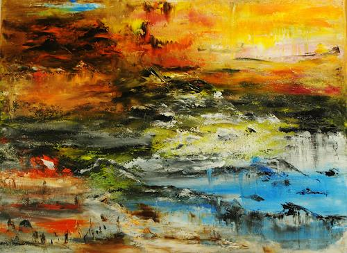 Susanne Köttgen, Die Natur spricht / Landscape, Landscapes, Nature, Abstract Expressionism