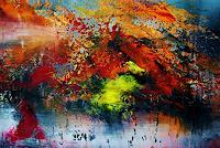 Susanne-Koettgen-Fantasy-Landscapes-Modern-Age-Expressionism-Abstract-Expressionism