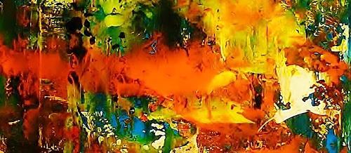 Susanne Köttgen, Nur für kurze Zeit / Serie, Fantasy, Abstract Expressionism, Expressionism