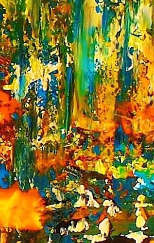 Susanne Köttgen, Nur für kurze Zeit, Serie, Miscellaneous, Abstract art, Abstract Expressionism