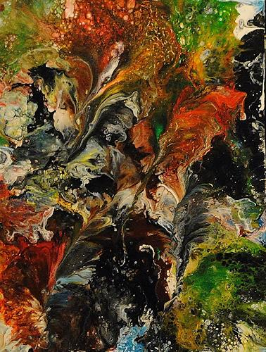 Susanne Köttgen, Die Liebe zur Farbe / Serie, Fantasy, Abstract art, Abstract Expressionism