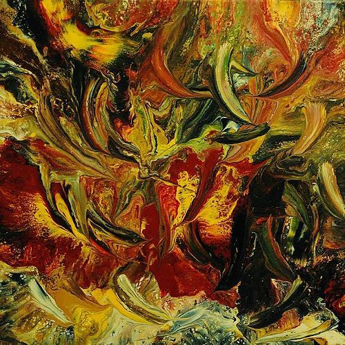 Susanne Köttgen, Die Liebe zur Farbe / Serie, Abstract art, Emotions: Love, Abstract Expressionism