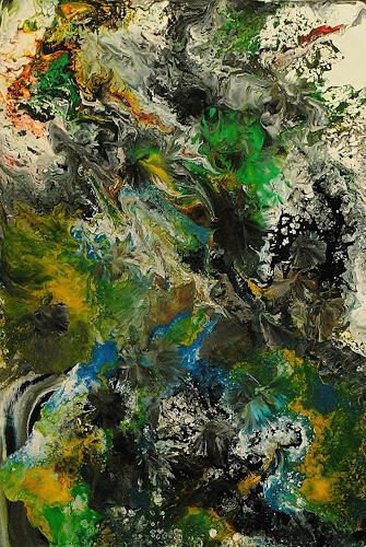 Susanne Köttgen, Die Liebe zur Farbe / Serie, Fantasy, Nature: Miscellaneous, Abstract Expressionism