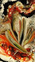 Susanne-Koettgen-Abstract-art-Plants-Flowers-Modern-Age-Expressionism-Abstract-Expressionism