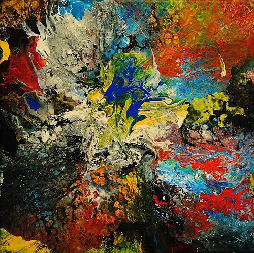Susanne Köttgen, Die Liebe zur Farbe / Serie, Abstract art, Fantasy, Abstract Expressionism