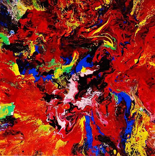 Susanne Köttgen, Ein Farben Paradies / Serie, Abstract art, Abstract Expressionism