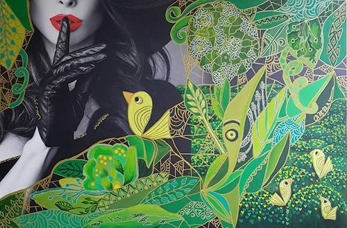 Mimi Revencu, Behind Appearances, Emotions, Nature: Earth, Pop-Art, Expressionism