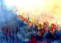 Isabel-Zampino-Miscellaneous-Buildings-Fantasy-Modern-Age-Primitive-Art-Naive-Art
