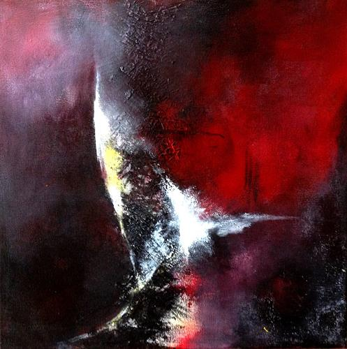Isabel Zampino, Richtungsänderung, Abstract art, Miscellaneous Landscapes, Contemporary Art