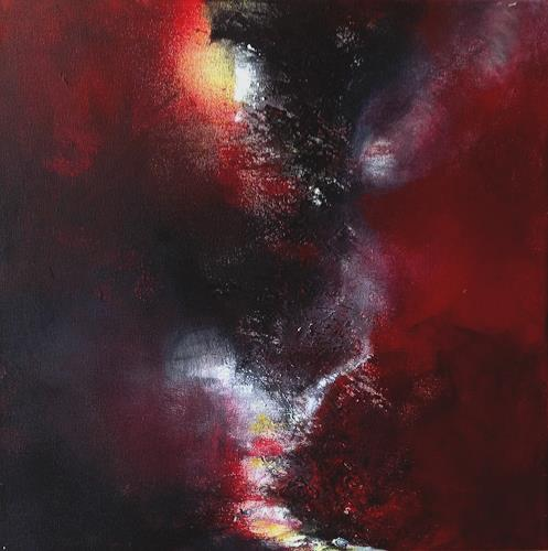Isabel Zampino, Abzweigung, Abstract art, Miscellaneous Landscapes, Contemporary Art