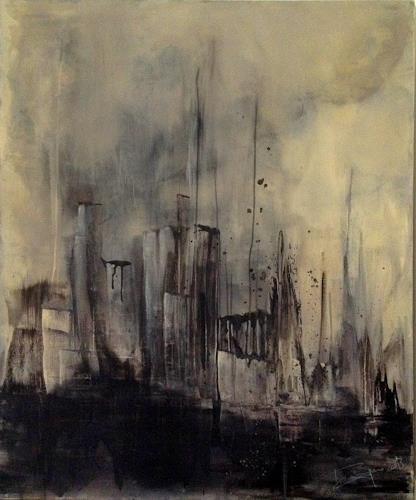Isabel Zampino, es kommt von oben, Miscellaneous Buildings, Emotions: Fear, Contemporary Art