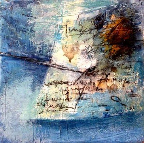 Isabel Zampino, Notizen III, Abstract art, Abstract art, Contemporary Art, Abstract Expressionism
