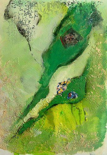 Isabel Zampino, von ganz weit oben II, Miscellaneous Landscapes, Fantasy, Contemporary Art