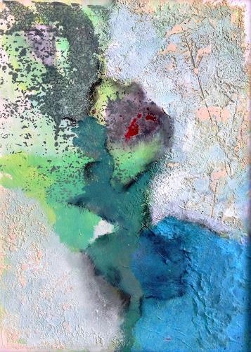 Isabel Zampino, von ganz weit oben III, Miscellaneous Landscapes, Fantasy, Contemporary Art, Expressionism