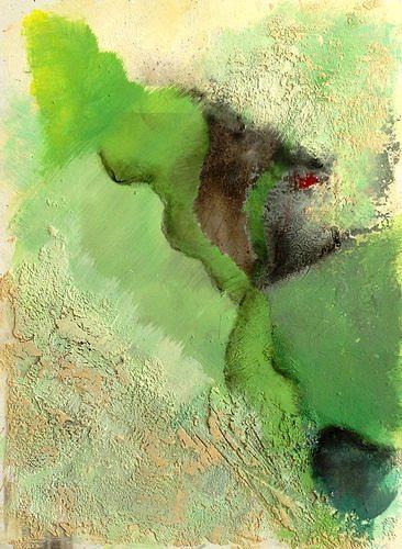 Isabel Zampino, von ganz weit oben I, Miscellaneous Landscapes, Fantasy, Contemporary Art, Abstract Expressionism