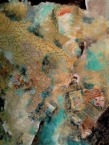 Isabel Zampino, Il viaggio, Miscellaneous Landscapes, Miscellaneous Landscapes, Abstract Art