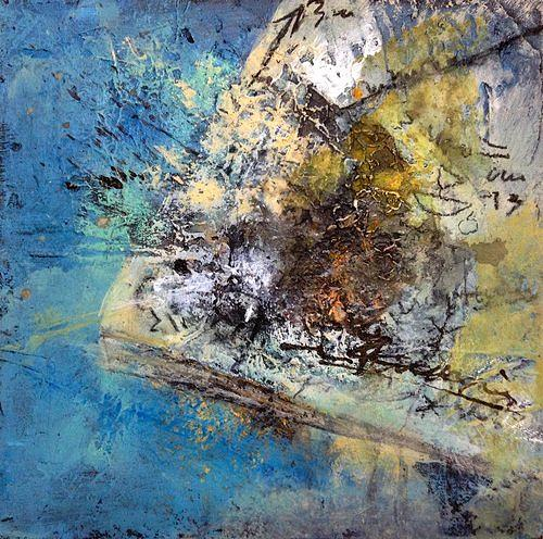 Isabel Zampino, Telefonnotizen I, Situations, Contemporary Art, Abstract Expressionism