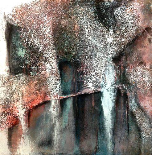 Isabel Zampino, Ruine, Miscellaneous Buildings, Miscellaneous Emotions, Contemporary Art, Abstract Expressionism