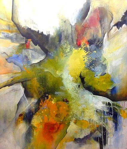 Isabel Zampino, Wetterhexe, Fantasy, Nature: Miscellaneous, Contemporary Art, Abstract Expressionism
