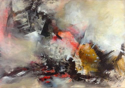 Isabel Zampino, Ordnung im Chaos, Abstract art, The world of work, Non-Objectivism [Informel], Abstract Expressionism