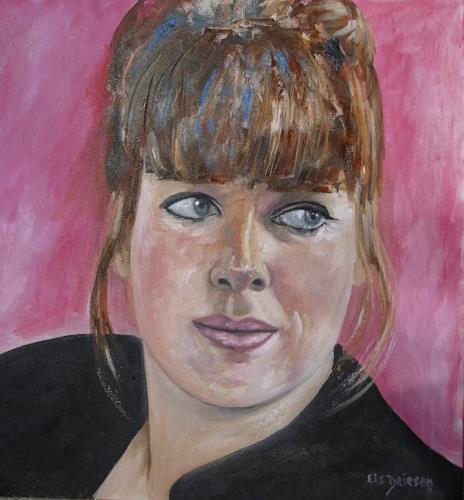 Els Driesen, Paula, People: Women, People: Portraits, Expressive Realism