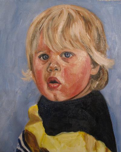 Els Driesen, Florian, People: Children, People: Portraits, Expressionism