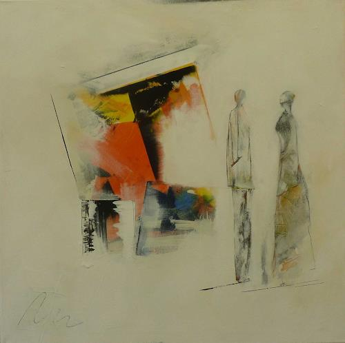 Doris Jordi, Bildbesprechung, Decorative Art, People: Group, Abstract Expressionism