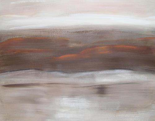 Doris Jordi, Abendrot, Landscapes: Plains, Landscapes: Autumn
