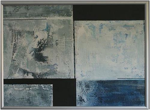 Doris Jordi, Deep Water, Abstract art, Decorative Art