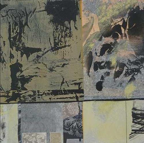 Doris Jordi, Geheimnis Erde, Abstract art