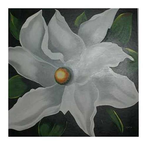 Doris Jordi, Hibiskus, Plants: Flowers, Decorative Art