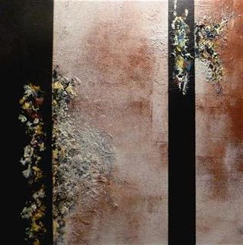 Doris Jordi, Tanzende Farben, Abstract art, Fantasy