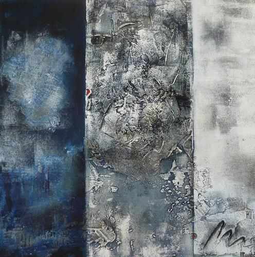 Doris Jordi, Blue Dream, Decorative Art, Abstract art, Abstract Art