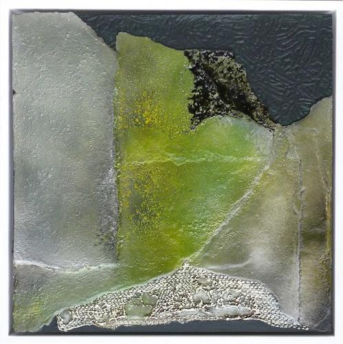 Doris Jordi, es grünt auf dem Dach, Abstract art, Miscellaneous