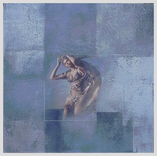 Doris Jordi, vom Winde verweht, Decorative Art, People: Women, Expressionism
