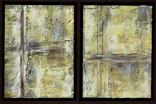 Doris Jordi, doppeltes Lottchen, Decorative Art, Abstract art