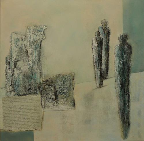 Doris Jordi, Memorial place, People: Group, Emotions: Grief, Expressionism
