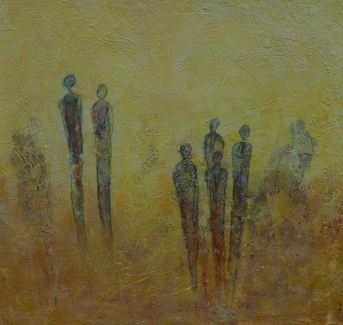 Doris Jordi, Meeting Point, Decorative Art, People: Families