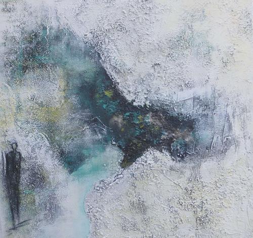 Doris Jordi, am See, Decorative Art, Landscapes: Sea/Ocean