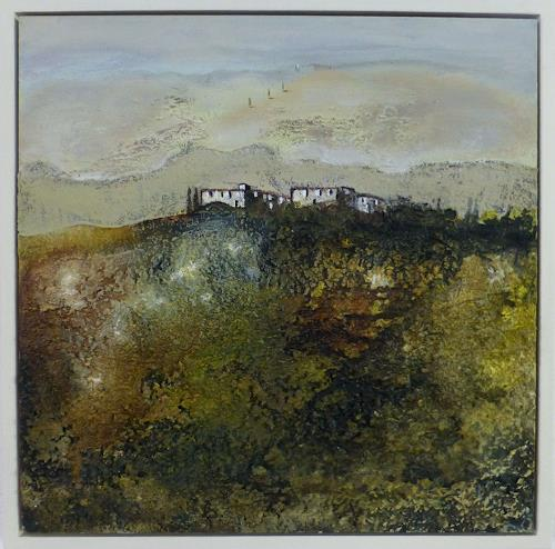 Doris Jordi, nahe dem Abgrund, Landscapes: Hills, Miscellaneous Landscapes, Expressionism