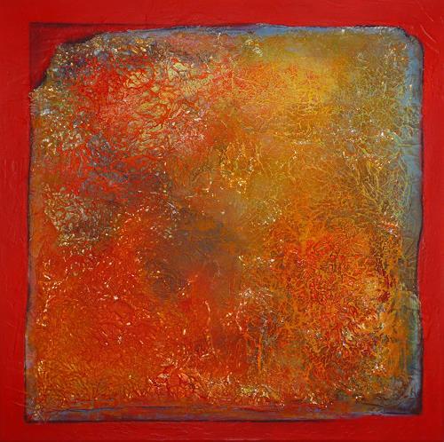 Doris Jordi, wenn es brennt...., Decorative Art, Abstract art