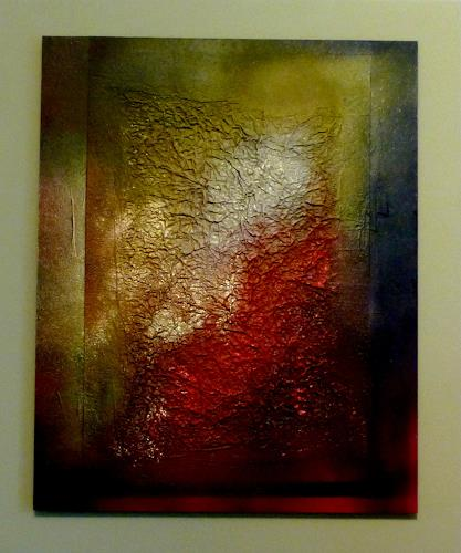 Doris Jordi, nach dem Feuer, Decorative Art, Nature: Fire