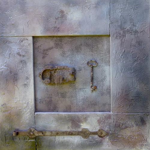Doris Jordi, hinter Schloss und Riegel, Still life, Decorative Art