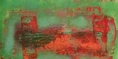 Dorothea Tlatlik, fremdes Land, Abstract art