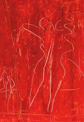 Dorothea Tlatlik, Bella Donna, Abstract art