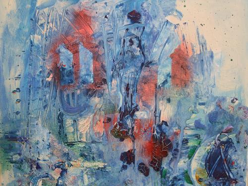 Dorothea Tlatlik, die geheimnisvolle Stadt, Abstract art