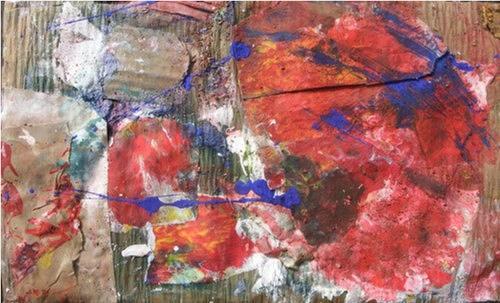Dorothea Tlatlik, Vielleicht ist es Sehnsucht, Abstract art