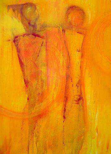 Dorothea Tlatlik, Sonnenfänger, Abstract art, Fantasy, Abstract Art, Expressionism