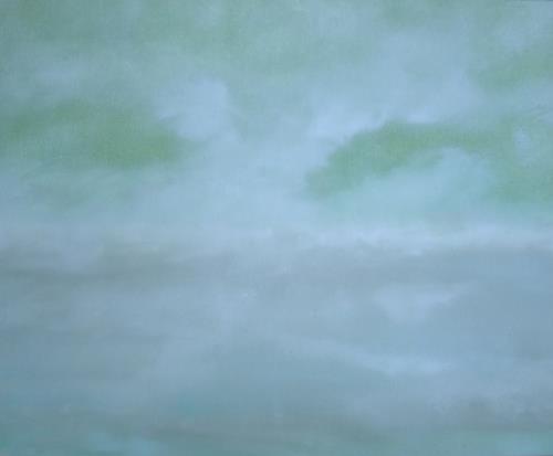 Dorothea Tlatlik, den Wolken eine Heimat geben, Landscapes, Nature: Air, Abstract Art, Expressionism