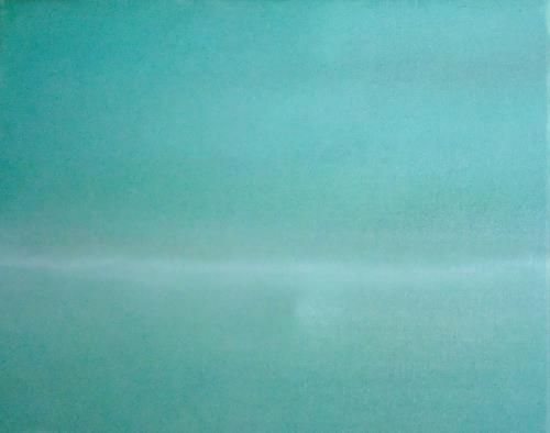 Dorothea Tlatlik, Jenseits der Stille, Landscapes, Emotions: Safety, Abstract Art, Expressionism